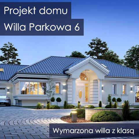 Projekt domu Willa Parkowa